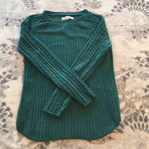 Loft size S teal sweater